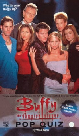 Cynthia Boris, Buffy: Pop Quiz (Buffy the Vampire Slayer S.)