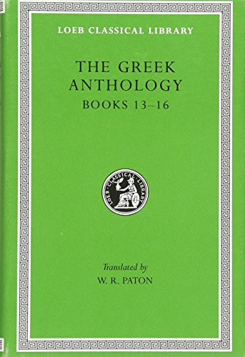 Books XIII–XVI L086 V 5 (Trans. Paton) (Greek)
