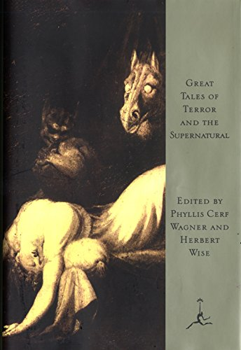 Great Tales of Terror and the Supernatural cover