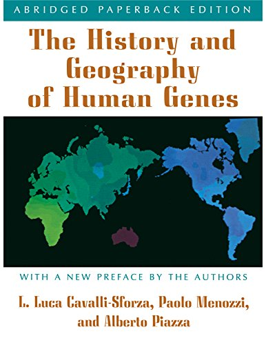 Cover of The History and Geography of Human Genes