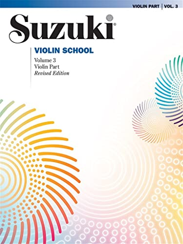Suzuki Violin School: violin part volume 3