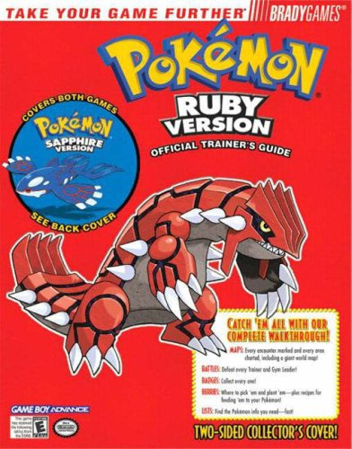 Pokemon Ruby and Sapphire Official Strategy Guide
