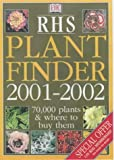 Amazon Book - RHS Plant Finder 2001 -2002