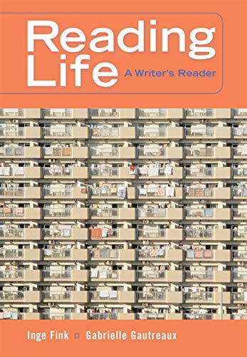 Reading Life: A Writer's Reader With Infotrac PDF Books