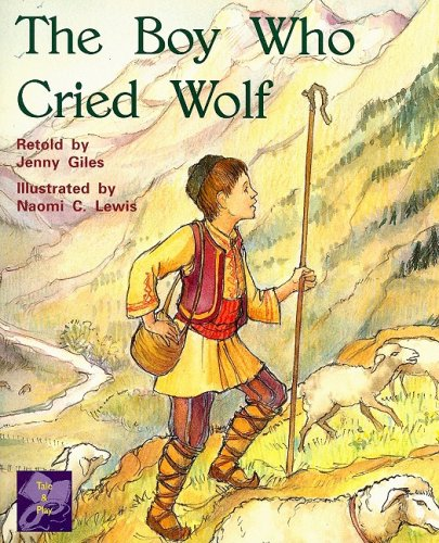 RPM Pur Boy Who Cried Wolf Is (PM Traditional Tales and Plays Purple Level)