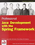 couverture du livre 'Professional Java Development with the Spring Framework'