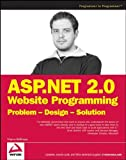 couverture du livre Asp.net 2.0 Web Site Programming: Problem-design-solution