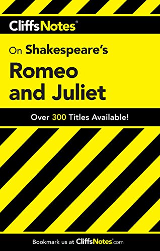 CliffsNotes on Shakespeare's Romeo and Juliet