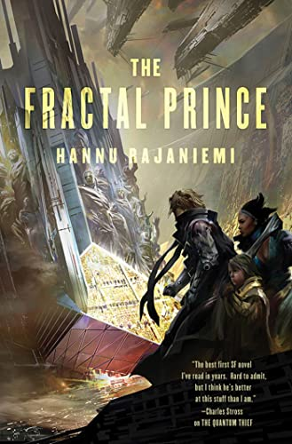 The Fractal Prince US cover