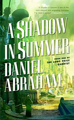 A Shadow in Summer, US cover