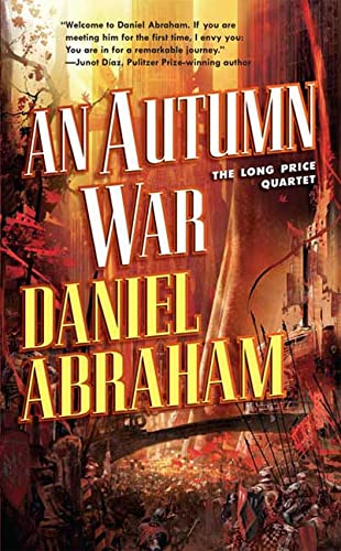 An Autumn War, US cover