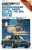 NISSAN 810 automotive repair manual