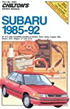 SUBARU Loyale automotive repair manual