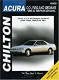 ACURA Legend automotive repair manual