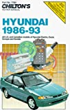 HYUNDAI Excel automotive repair manual