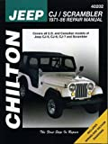 JEEP CJ7 automotive repair manual