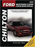 MERCURY Capri automotive repair manual