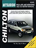 MITSUBISHI Mighty Max automotive repair manual