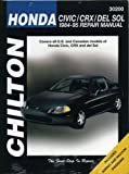 HONDA CRX automotive repair manual