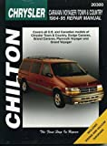 CHRYSLER Town & Country automotive repair manual