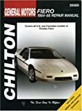 PONTIAC Fiero automotive repair manual
