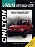 SUZUKI Sidekick automotive repair manual