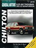 GMC Jimmy automotive repair manual