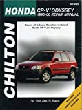 HONDA CR-V automotive repair manual