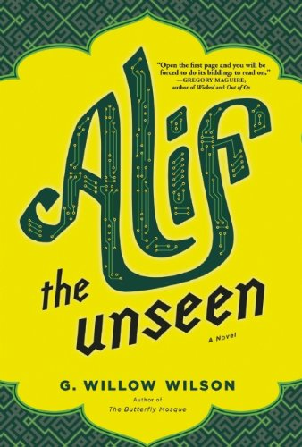Alif the Unseen US cover