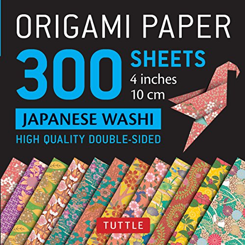 Origami papers 300 sheets japanese washi