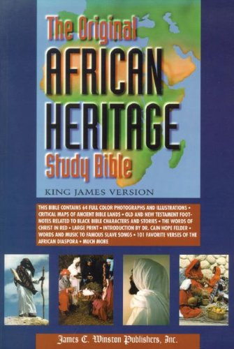 The Original African Heritage Study Bible: King James Version
