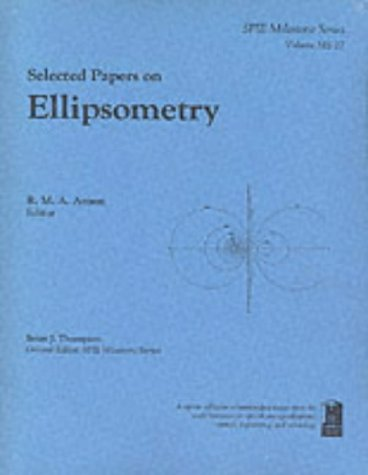 Selected Papers on Ellipsometry PDF Books