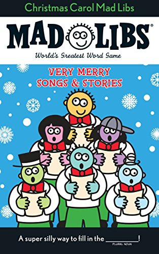 Christmas Carol Mad Libs: Stocking Stuffer Mad Libs