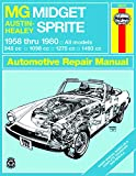 MG Midget Mark I automotive repair manual