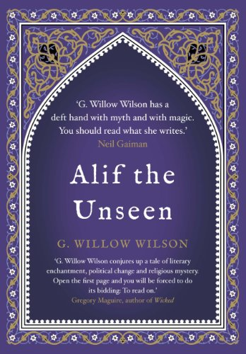 Alif the Unseen UK cover