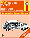 VOLKSWAGEN Type 3 automotive repair manual