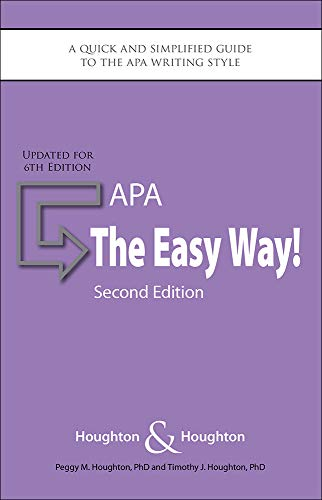 apa  the easy way   updated for apa 6th edition