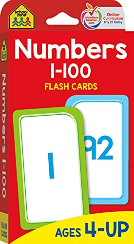 Numbers 1-100: Flashcard