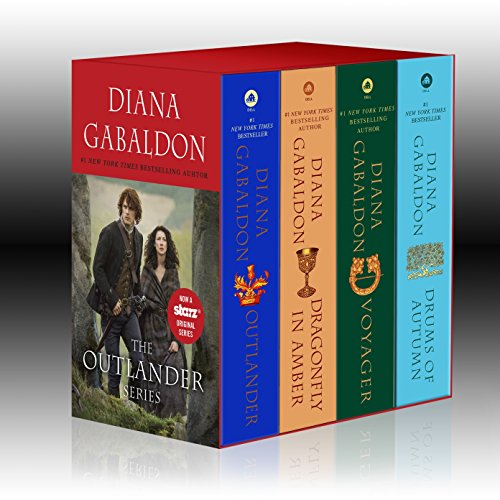 Outlander 4-Copy Boxed Set: Outlander, Dragonfly in Amber, Voyager, Drums of Autumn.