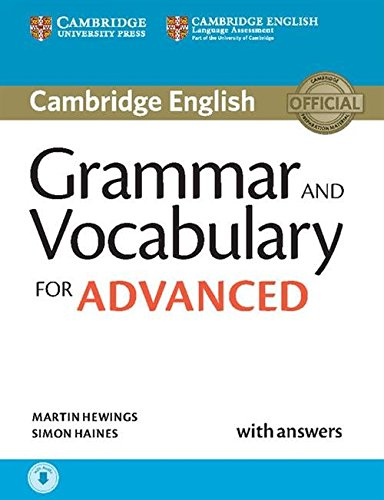 Grammar and Vocabulary for Advanced Book with Answers and Audio: Self-Study Grammar Reference and Practice.