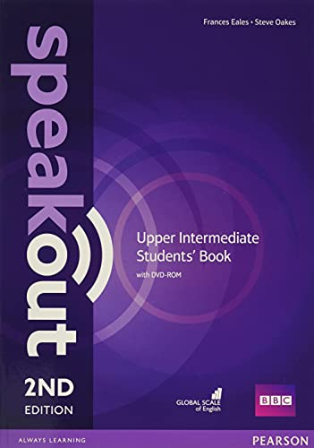 Speakout Upper Intermediate 2nd Edition Students' Book and DVD-ROM Pack