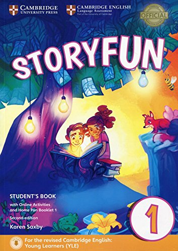 Storyfun for Starters Level 1 Student's Book with Online Activities and Home Fun Booklet 1