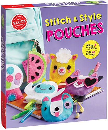 Klutz Stitch and Style Pouches