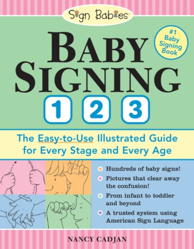 Baby Signing 1-2-3: The Easy-to-Use Illustrated Guide for Every Stage and Every Age par  Nancy Cadjan