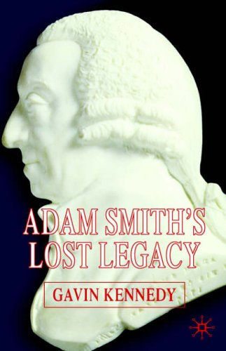 adam smiths view on a capitalist economy Adam smith: adam smith the first comprehensive system of political economy—smith is more properly regarded as a social philosopher whose economic writings.