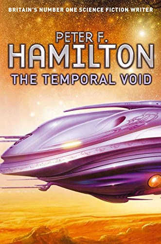 The Temporal Void, UK cover