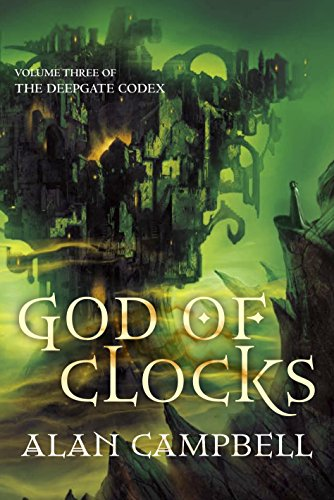 A God of Clocks, UK cover