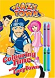 Colouring Time with Lazytown