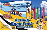 LazyTown Activity Pack (2 Books, 4 Crayons, 25 Stickers, Interactive Free CD-Rom)