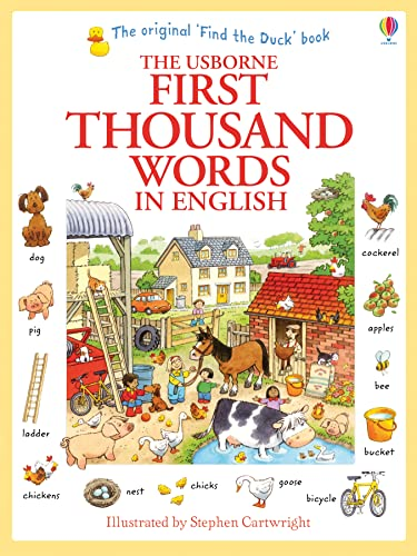 First Thousand Words in English.